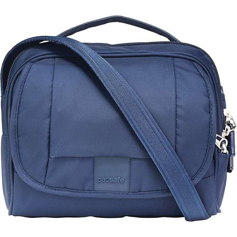 パックセーフ メンズ ショルダーバッグ バッグ Pacsafe Metrosafe LS140 Anti-Theft Compact Shoulder Bag Deep Navy