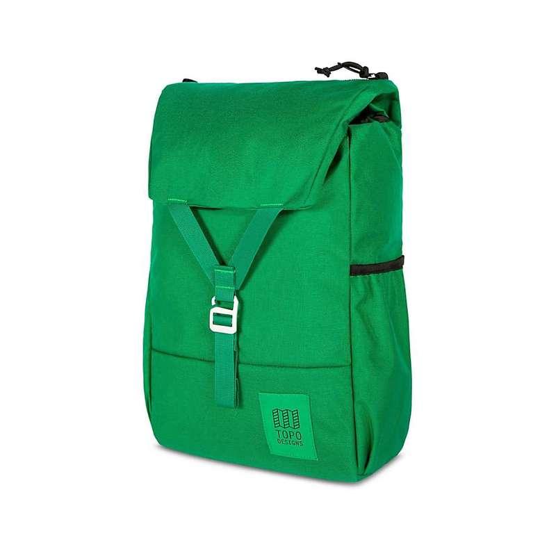 トポ・デザイン メンズ バックパック・リュックサック バッグ Topo Designs Y-Pack Daypack Green/Green