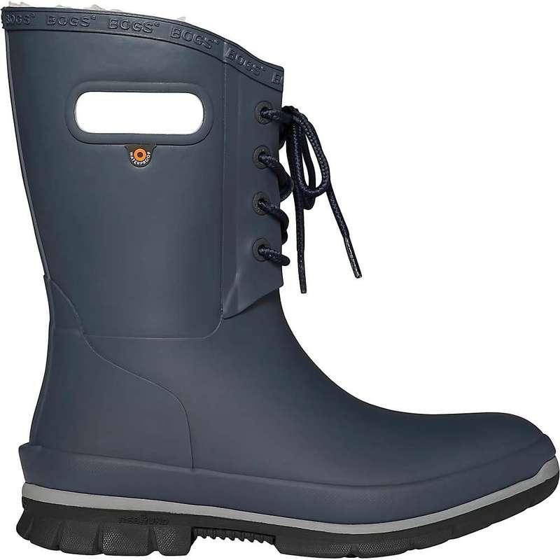ボグス レディース ブーツ・レインブーツ シューズ Bogs Women's Amanda Plush Boot Dark Blue