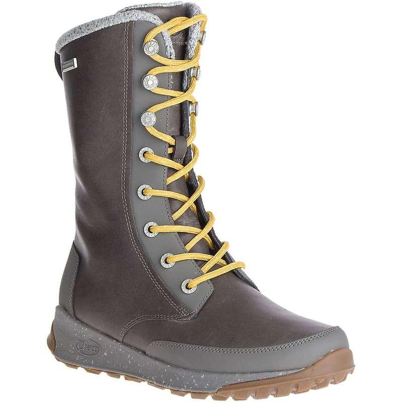 チャコ レディース ブーツ・レインブーツ シューズ Chaco Women's Borealis Tall Waterproof Boot Nickel