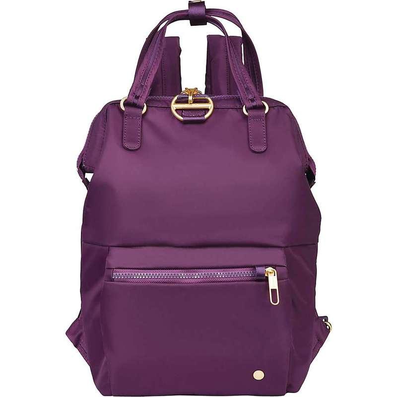パックセーフ レディース バックパック・リュックサック バッグ Pacsafe Citysafe CX Mini Backpack Dahlia