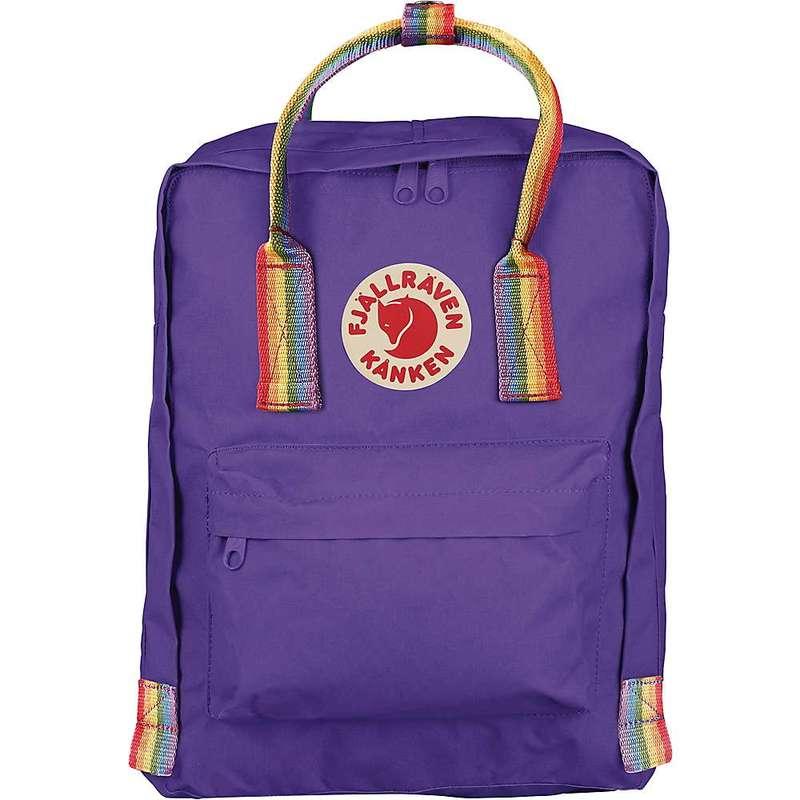 フェールラーベン メンズ バックパック・リュックサック バッグ Fjallraven Kanken Rainbow Backpack Purple/Rainbow Pattern