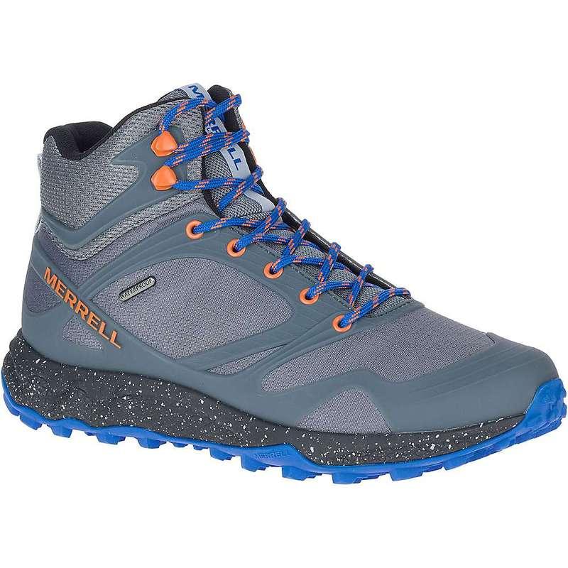 メレル メンズ ブーツ・レインブーツ シューズ Merrell Men's Altalight Mid Waterproof Shoe Rock / Exuberance