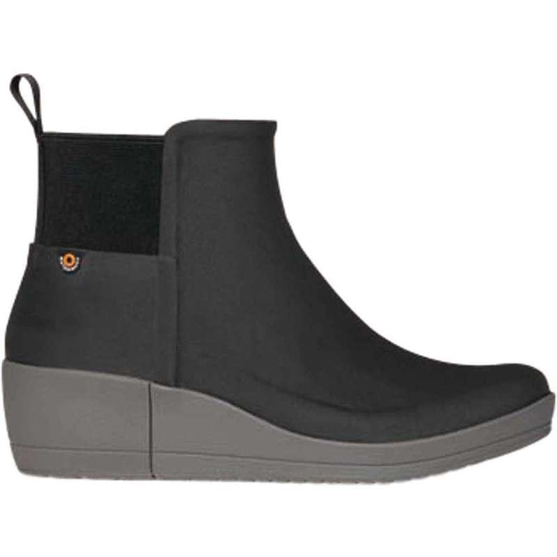 ボグス レディース ブーツ・レインブーツ シューズ Bogs Women's Vista Wedge Boot Black