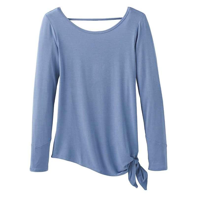 プラーナ レディース Tシャツ トップス Prana Women's Olson Top Colony Blue