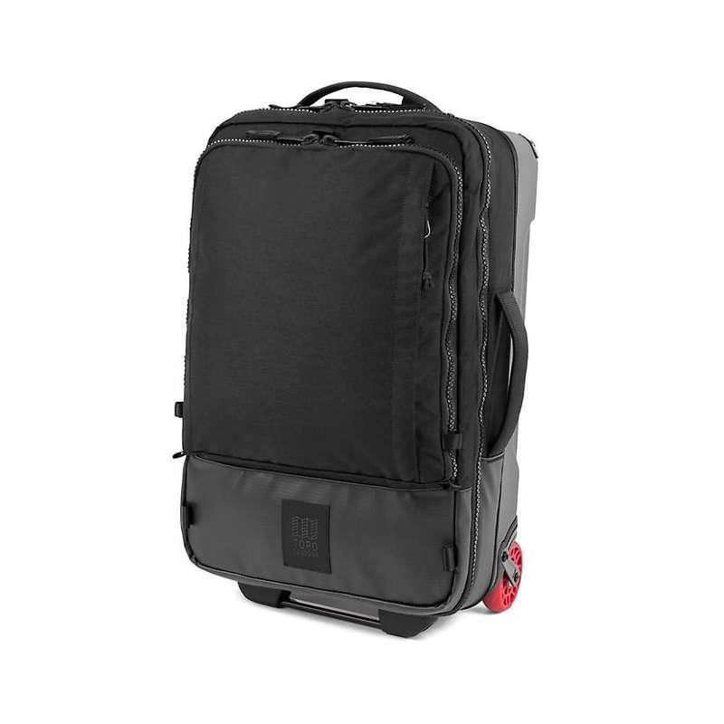 トポ・デザイン メンズ スーツケース バッグ Topo Designs Travel Bag Roller Premium Black