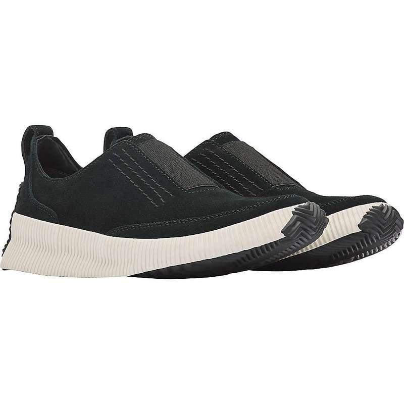 ソレル レディース スニーカー シューズ Sorel Women's Out N About Plus Slip On Shoe Black