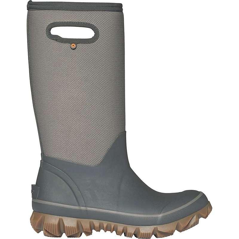 ボグス レディース ブーツ・レインブーツ シューズ Bogs Women's Whiteout Woven Boot Dark Grey