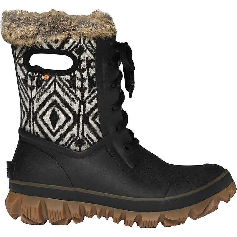 ボグス レディース ブーツ・レインブーツ シューズ Bogs Women's Arcata Geo Boot Black Multi