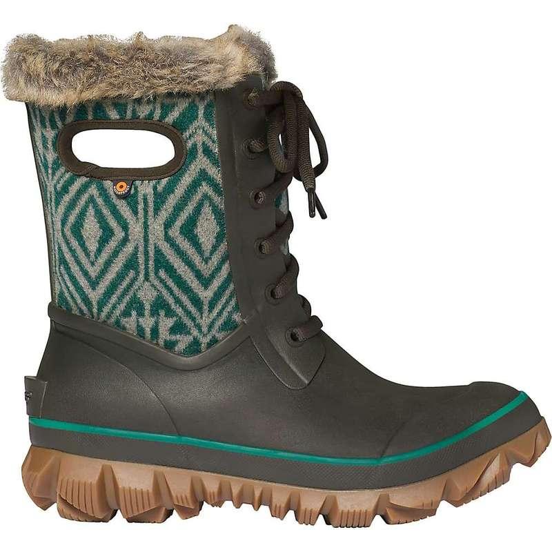 ボグス レディース ブーツ・レインブーツ シューズ Bogs Women's Arcata Geo Boot Brown Multi