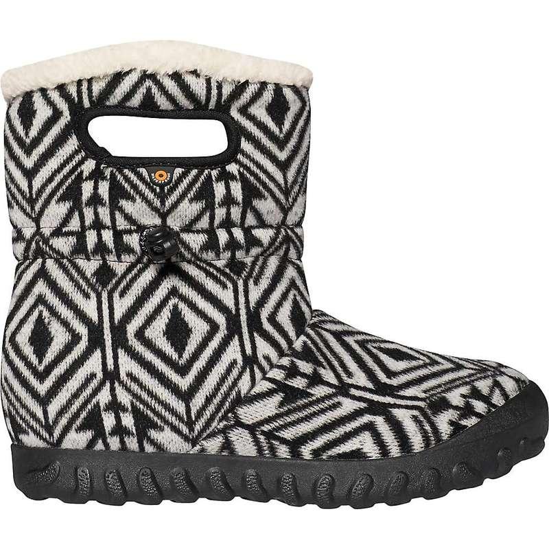 ボグス レディース ブーツ・レインブーツ シューズ Bogs Women's B Moc Mid Geo Shoe Dark Grey Multi