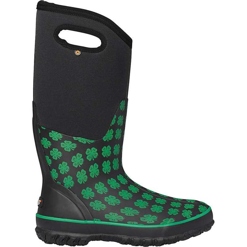 ボグス レディース ブーツ・レインブーツ シューズ Bogs Women's Classic 4-H Tall Boot Black Multi
