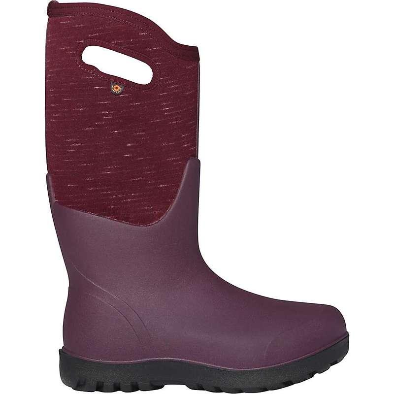 ボグス レディース ブーツ・レインブーツ シューズ Bogs Women's Neo Classic Melange Boot Plum Multi
