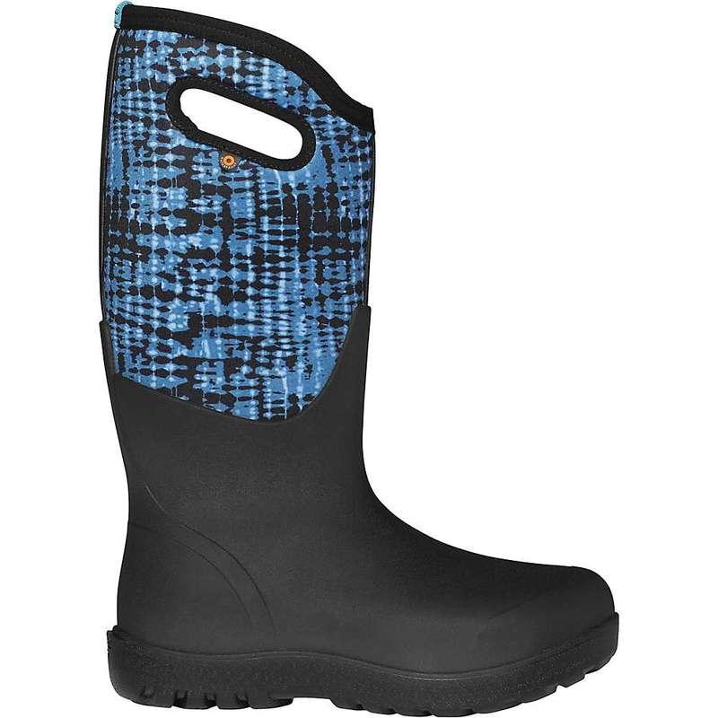 ボグス レディース ブーツ・レインブーツ シューズ Bogs Women's Neo Classic Tie Dye Boot Blue Multi