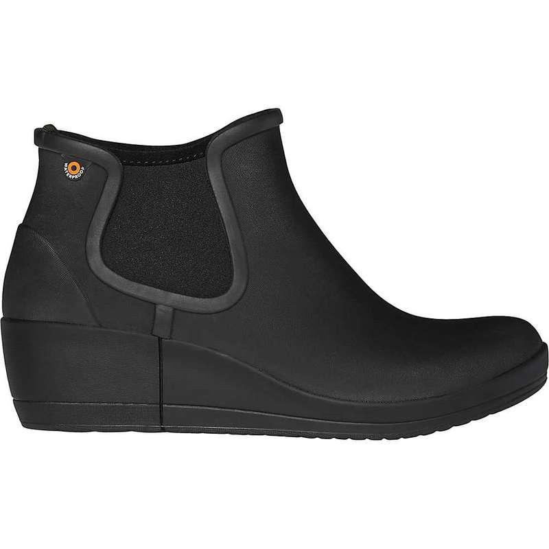 ボグス レディース ブーツ・レインブーツ シューズ Bogs Women's Vista Wedge Ankle Boot Black