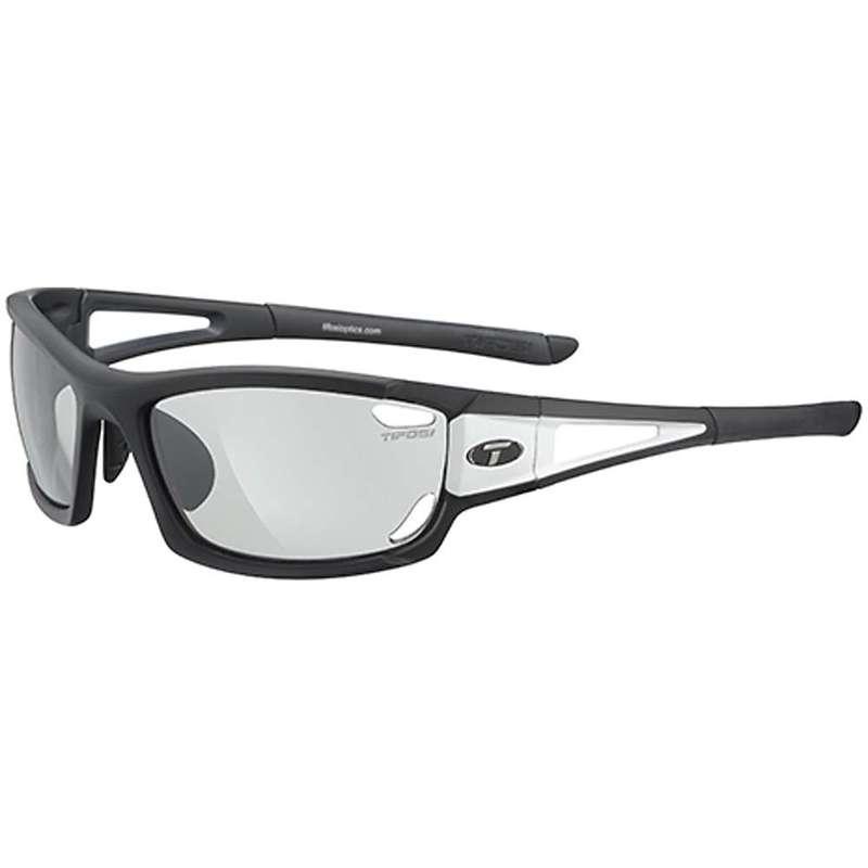 テフォシー メンズ サングラス・アイウェア アクセサリー Tifosi Dolomite 2.0 Sunglasses Black / White