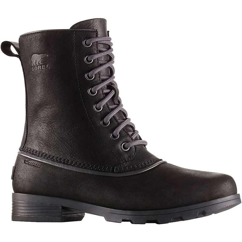 ソレル レディース ブーツ・レインブーツ シューズ Sorel Women's Emelie 1964 Boot Black