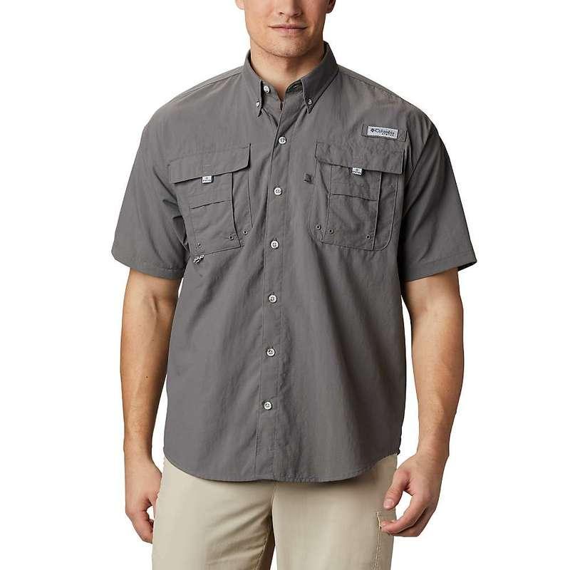 コロンビア メンズ シャツ トップス Columbia Men's Bahama II SS Shirt City Grey