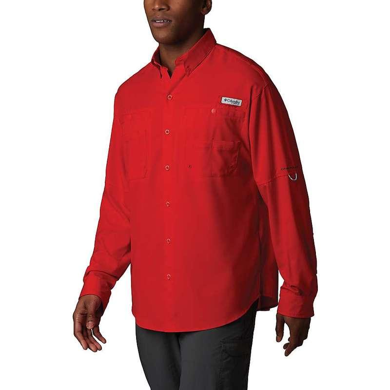 コロンビア メンズ シャツ トップス Columbia Men's Tamiami II LS Shirt Red Spark