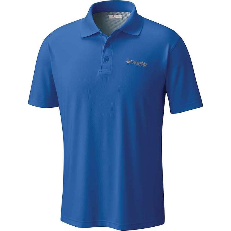 コロンビア メンズ シャツ トップス Columbia Men's Skiff Cast Polo Shirt Vivid Blue