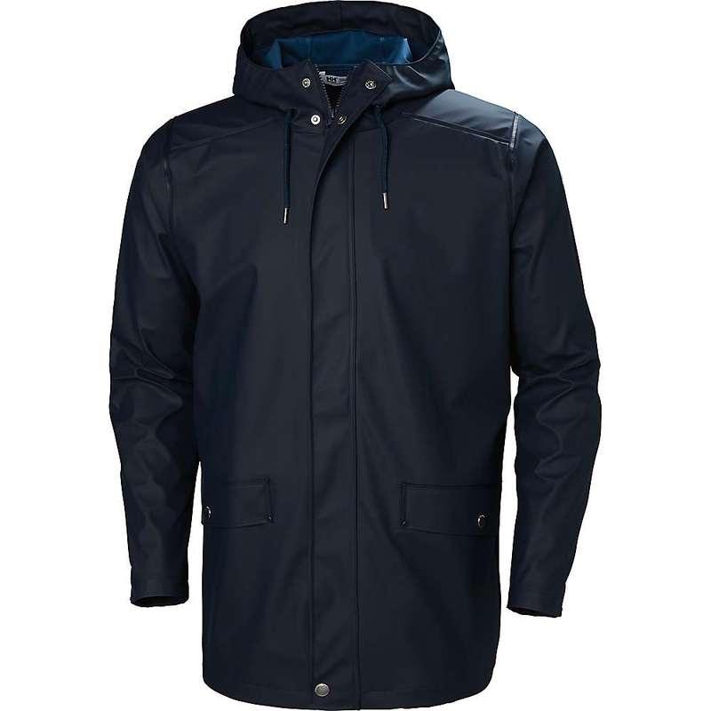 ヘリーハンセン メンズ ジャケット・ブルゾン アウター Helly Hansen Men's Moss Rain Coat NAVY
