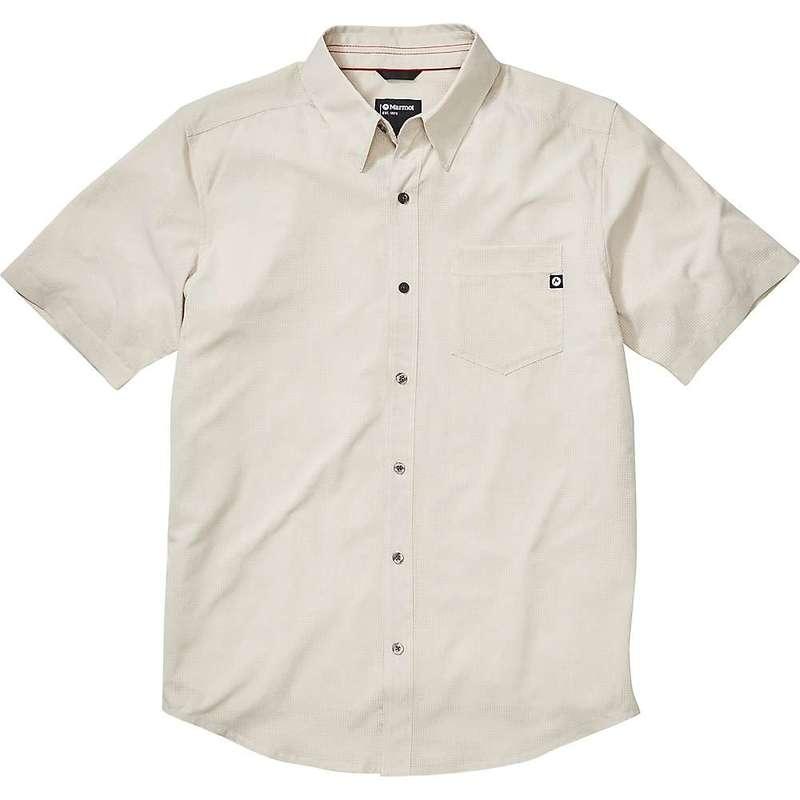 マーモット メンズ シャツ トップス Marmot Men's Aerobora SS Shirt Moonbeam