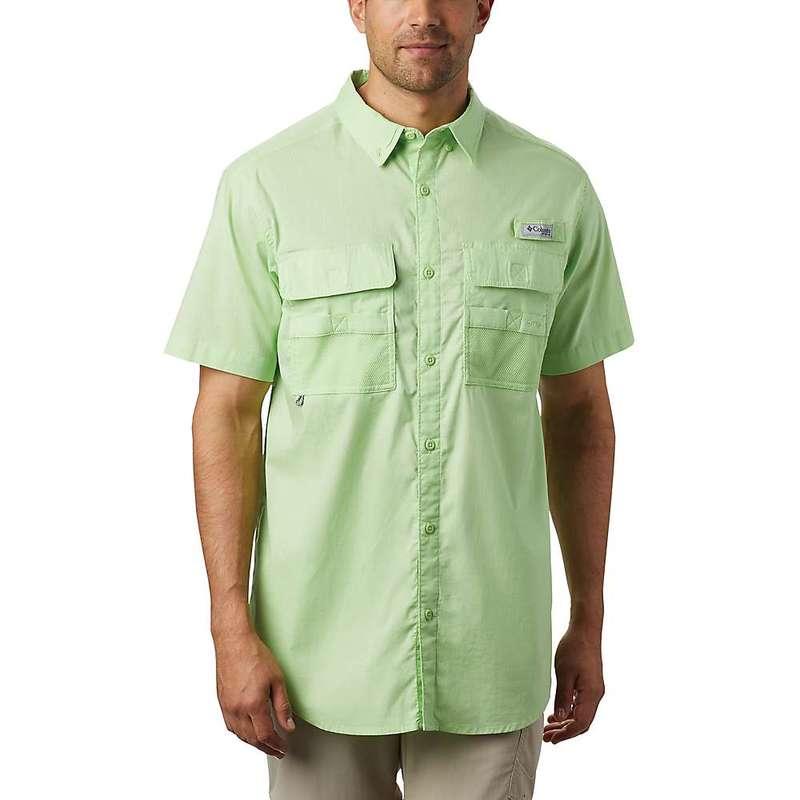 コロンビア メンズ シャツ トップス Columbia Men's Half Moon SS Shirt Jade Lime