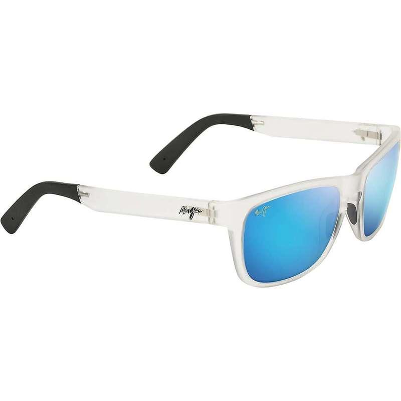 マウイジム レディース サングラス・アイウェア アクセサリー Maui Jim Women's South Swell Polarized Sunglasses Frosted Crystal/Blue Hawaii
