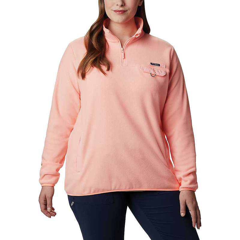 コロンビア レディース ジャケット・ブルゾン アウター Columbia Women's Harborside II Fleece Pullover Top Tiki Pink Heather
