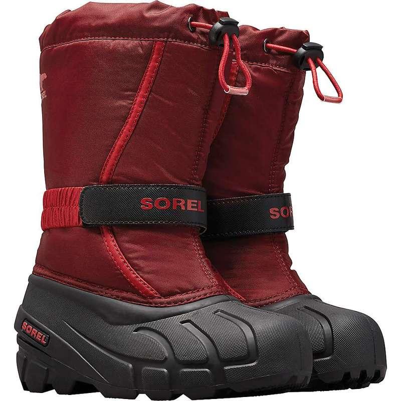 ソレル メンズ ブーツ・レインブーツ シューズ Sorel Youth Flurry Boot Red Jasper / Mountain Red