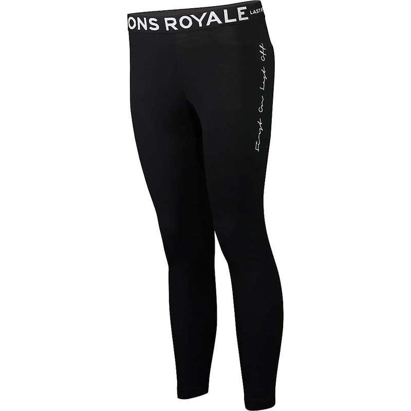 モンスロイヤル レディース カジュアルパンツ ボトムス Mons Royale Women's Christy Legging Black/White