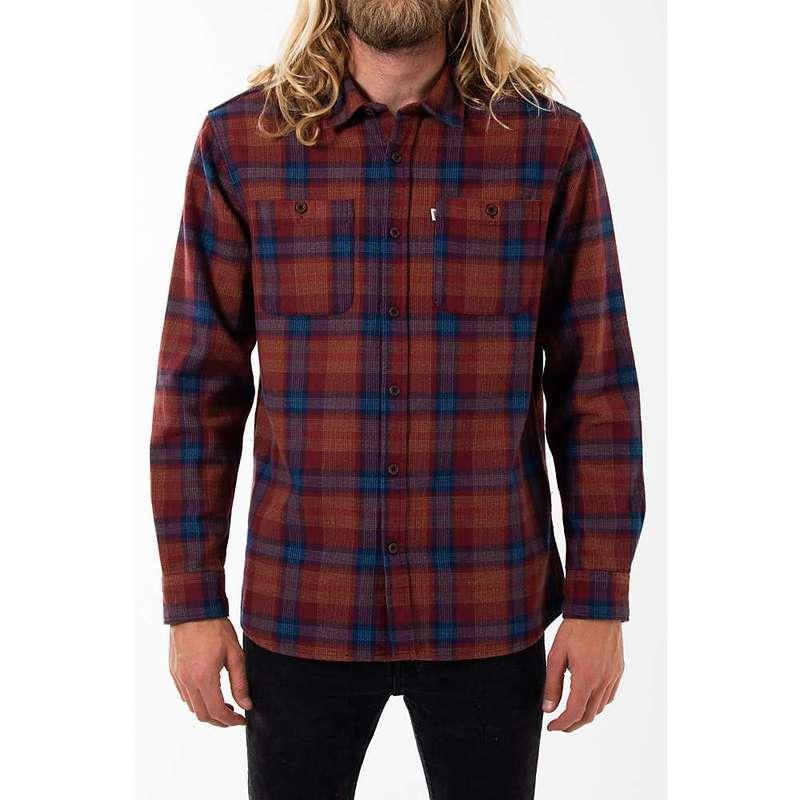 ケイティン メンズ シャツ トップス Katin Men's Harold Shirt Dark Red