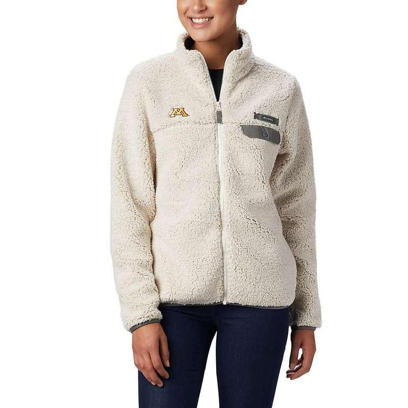 コロンビア レディース ジャケット・ブルゾン アウター Columbia Women's Collegiate Mountain Side Heavyweight Fleece Jacket MN - Chalk / Charcoal