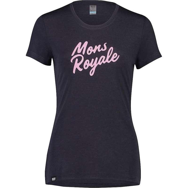 モンスロイヤル レディース Tシャツ トップス Mons Royale Women's Icon Tee 9 Iron