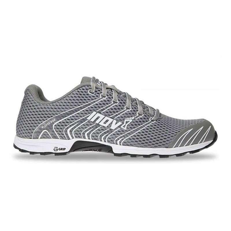 イノヴェイト メンズ スニーカー シューズ Inov8 Men's F-Lite G 230 Shoe Grey/White