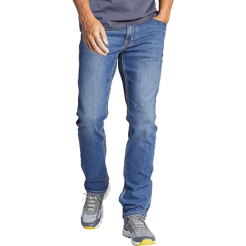 エディー バウアー メンズ カジュアルパンツ ボトムス Eddie Bauer Travex Men's Voyager Flex Jean 2.0 Light Indigo