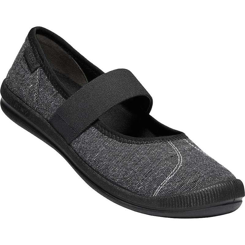 キーン レディース スニーカー シューズ Keen Women's Lorelai MJ Canvas Shoe Black