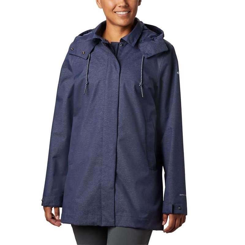 コロンビア レディース ジャケット・ブルゾン アウター Columbia Women's East Park Mackintosh Jacket Nocturnal Denim Twill
