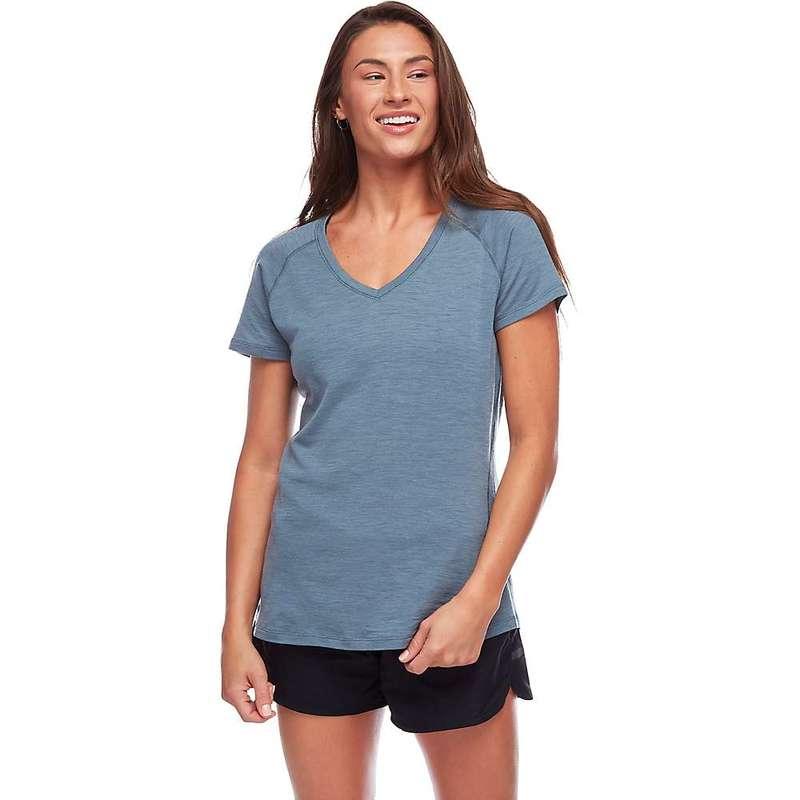 ブラックダイヤモンド レディース Tシャツ トップス Black Diamond Women's Flux Shirt Storm Blue