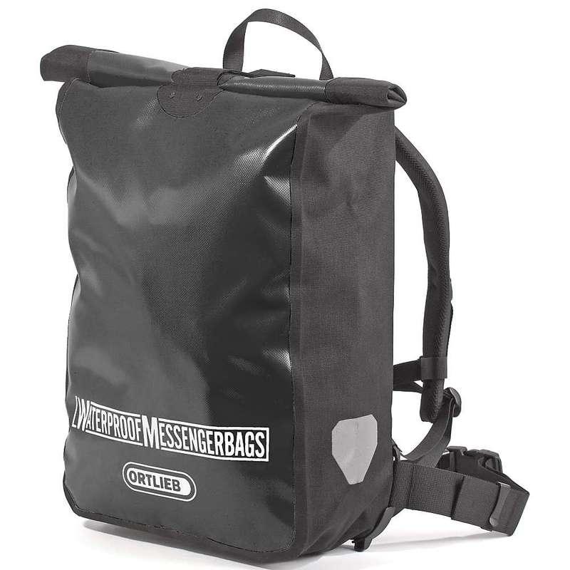 オートリービー メンズ ショルダーバッグ バッグ Ortlieb Messenger Bag Black