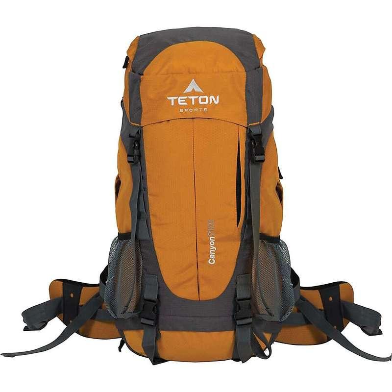 ティトンスポーツ メンズ バックパック・リュックサック バッグ TETON Sports Canyon 2100 Canyoneering Backpack Orange