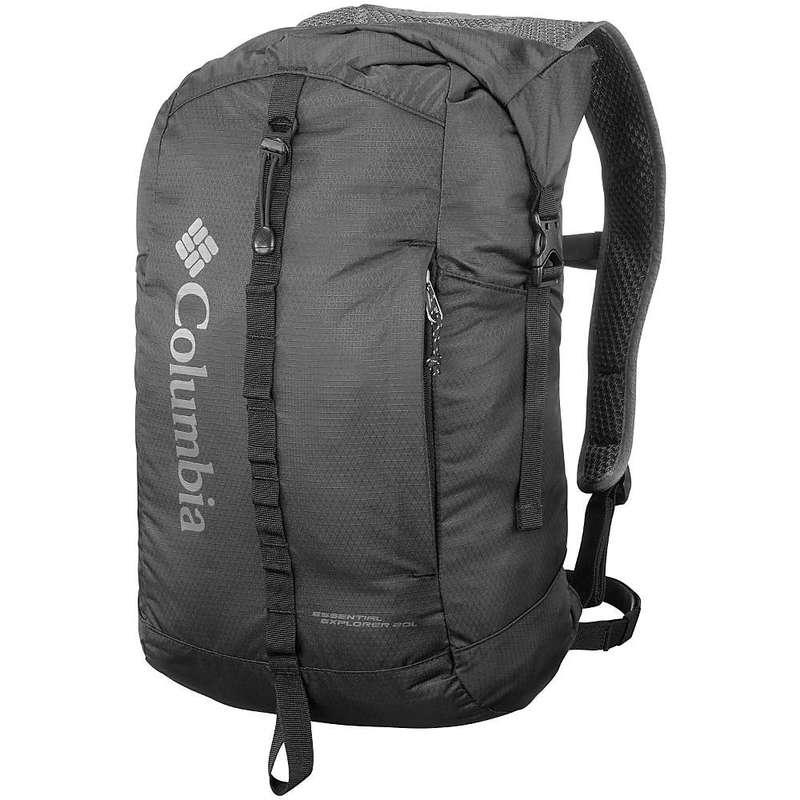コロンビア メンズ バックパック・リュックサック バッグ Columbia Essential Explorer 20L Pack Black