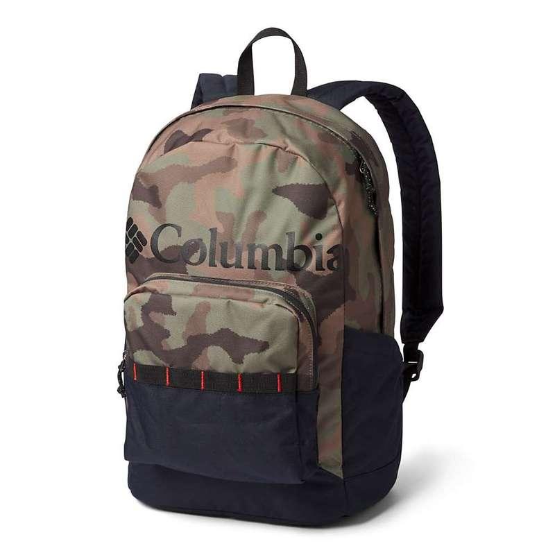 コロンビア メンズ バックパック・リュックサック バッグ Columbia Zigzag 22L Backpack Cypress Camo/Black