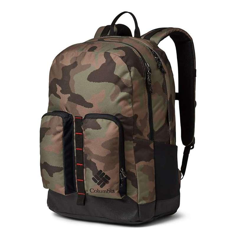 コロンビア メンズ バックパック・リュックサック バッグ Columbia Zigzag 27L Backpack Cypress Camo/Black
