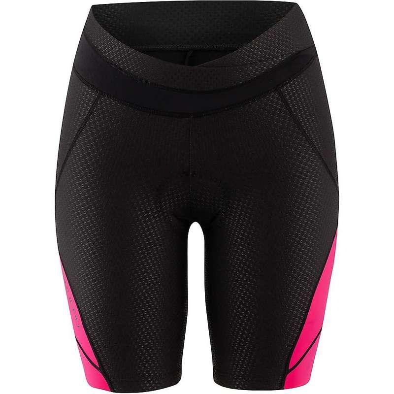 イルスガーナー レディース ハーフパンツ・ショーツ ボトムス Louis Garneau Women's CB Carbon 2 Short Black/Pink