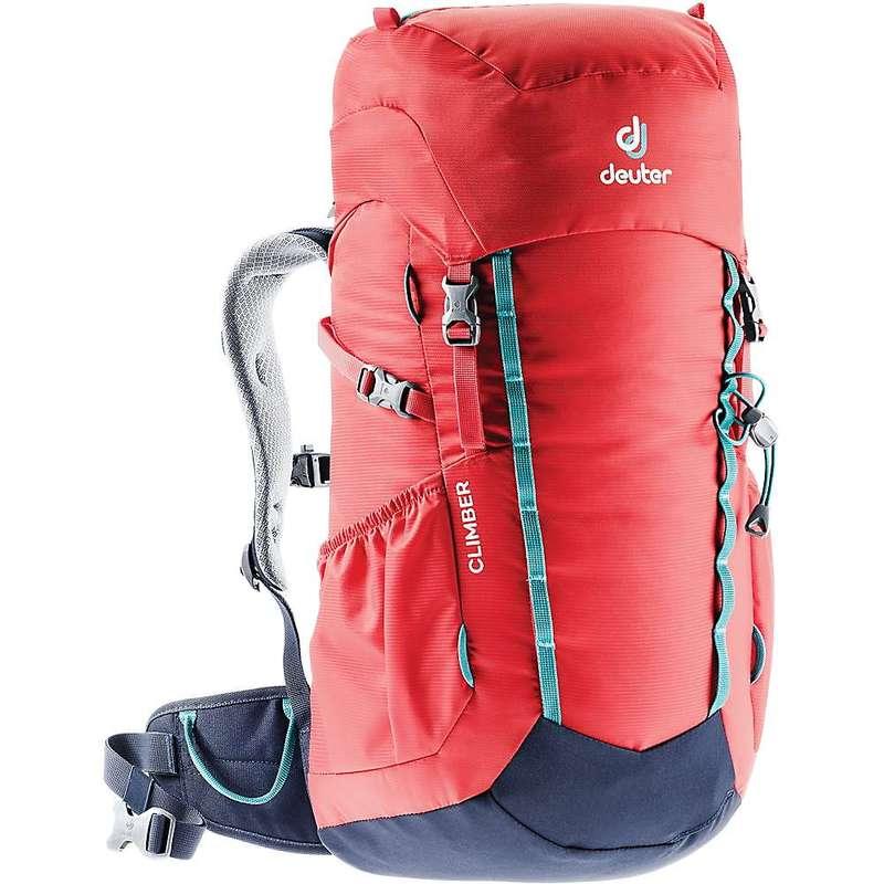 ドイター メンズ バックパック・リュックサック バッグ Deuter Climber Pack Chili / Navy