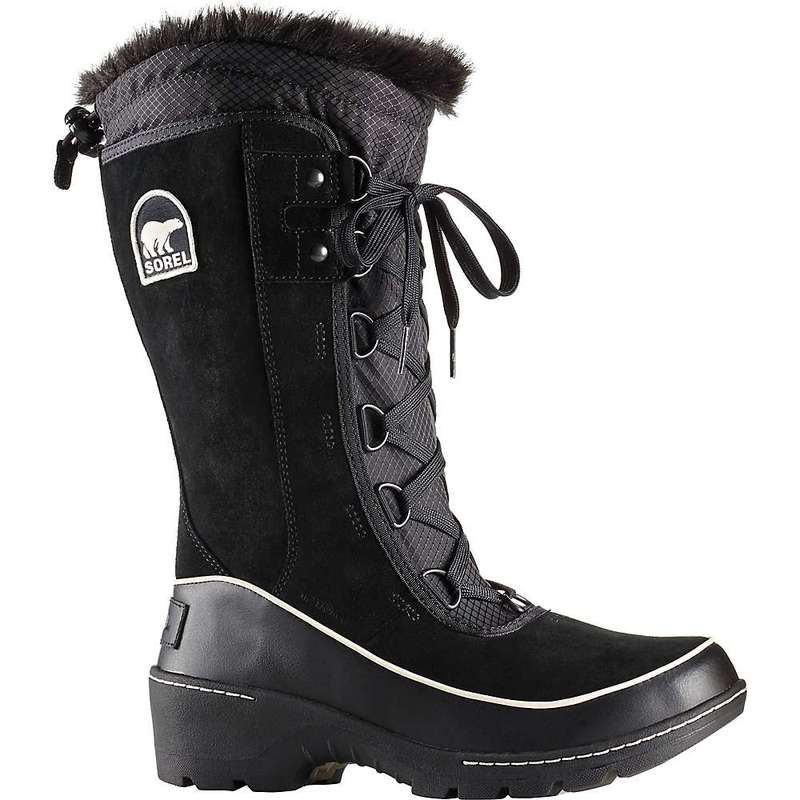 ソレル レディース ブーツ・レインブーツ シューズ Sorel Women's Tivoli III High Boot Black / Light Bisque