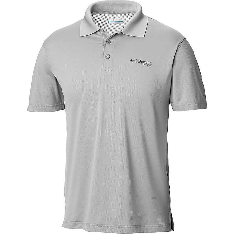 コロンビア メンズ シャツ トップス Columbia Men's Skiff Cast Polo Shirt Cool Grey