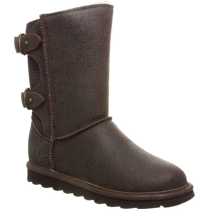 ベアパウ レディース ブーツ・レインブーツ シューズ Bearpaw Women's Clara Boot Chestnut Distressed