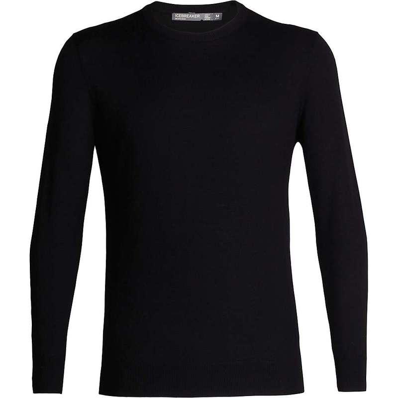 アイスブレーカー メンズ ニット・セーター アウター Icebreaker Men's Shearer Crewe Sweater Black